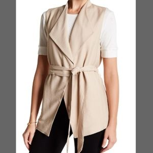 Vince Camuto Trench Coat Vest